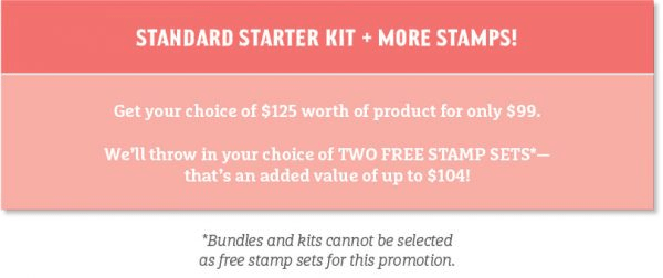 Join Stampin' Up! and the Luv 2 Stamp Group - receive 2 extra free stamp sets in your Starter Kit!