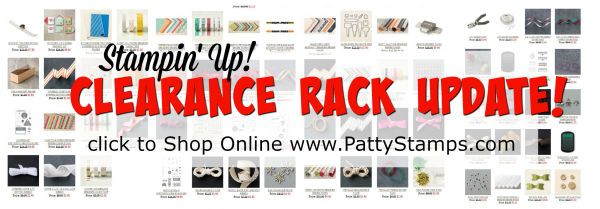 Pattystamps stampin up clearance rack update shop online