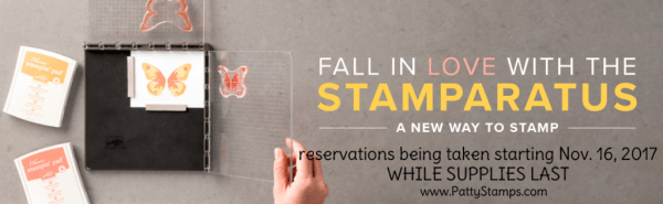 Stampin Up Stamparatus stamp positioning tool!  Reserve yours - quantities limited!