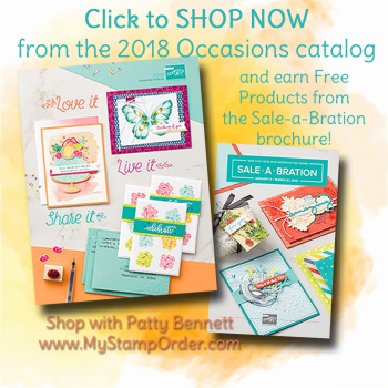 Shop the Stampin' Up! 2018 Occasions catalog at www.MyStampOrder.com