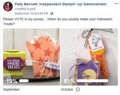 Halloween Trick or Treat survey from Patty Bennett