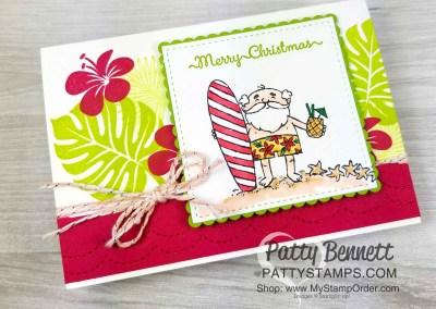 Aloha from Santa – notecard ideas