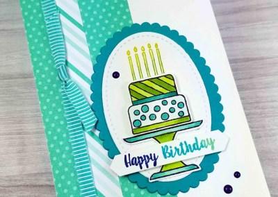 Piece of Cake Birthday Card Idea