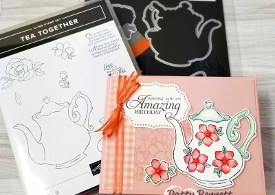Tea Together Cards with Stampin' Blends Markers