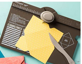 Envelope Punch Board #133774, Stampin' UP! paper crafting products available at www.MyStampOrder.com