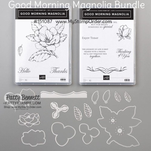 Good Morning Magnolia bundle from Stampin' Up! available online #151087 www.MyStampOrder.com