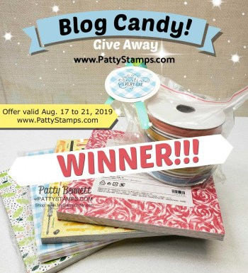 Blog Candy Winner