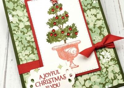 Christmas Topiary Card Idea