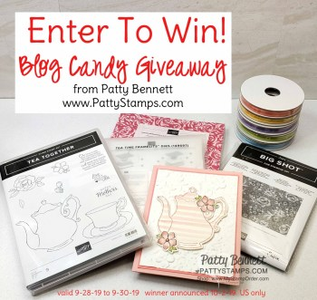Tea Together Blog Candy Giveaway