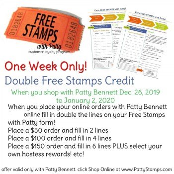 One Week for Double Points with Patty