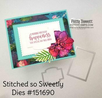 Lily Impressions Wild Rose Card Idea