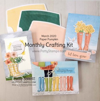 Monthly Crafting Kits with Paper Pumpkin