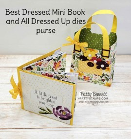 DIY Mini Book Instructions with Best Dressed DSP