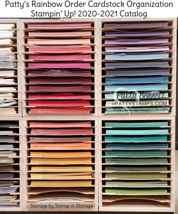 Stampin' Up! Cardstock in Rainbow Order