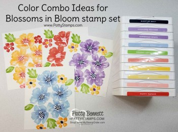 Color Combo Ideas for Blossoms in Bloom