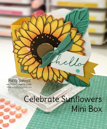 Quick and Easy Sunflower Box Instructions