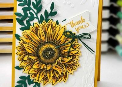 Celebrate Sunflowers Card Idea