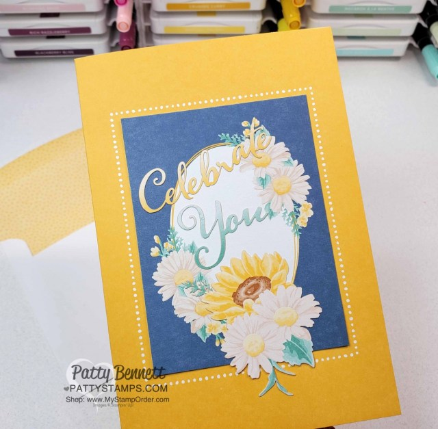 Flowers for Every season Memories & More cards - easy handmade greeting cards featuring new Stampin' UP! In Colors for 2020-2022 www.PattyStamps.com