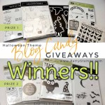 Winners of the Halloween Theme Blog Candy Giveaway Prizes from Patty Bennett