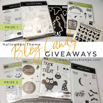 Halloween Theme Blog Candy Giveaway Prizes