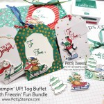 Christmas Tag Buffet Kit from Stampin