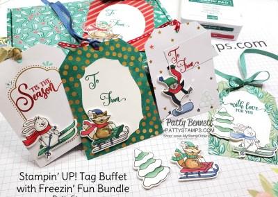 Christmas Tags with Tag Buffet Kit