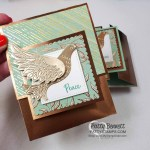 Christmas Gift Card Holder Idea featuring Stampin