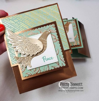 Dove of Hope card 2 Different Ways