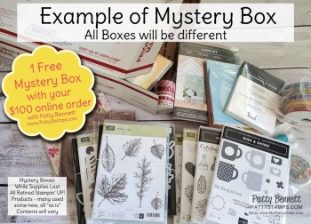 Stampin' UP! Retired Mystery Boxes!