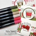 Press On stamp set from Stampin