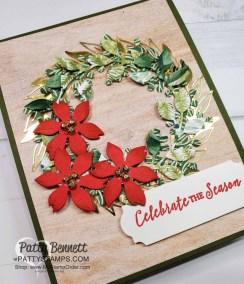 Arrange a Wreath Christmas Card Ideas Video