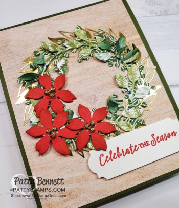 Arrange a Wreath Christmas Card Ideas Video