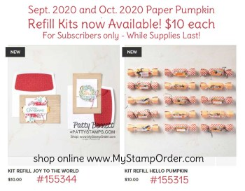 Paper Pumpkin Refill kits available again