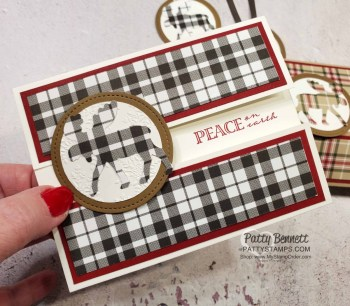 Moose Punch & Plaid Tidings cards and tags