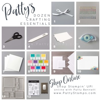 Patty's Dozen Crafting Essentials from Stampin' Up!