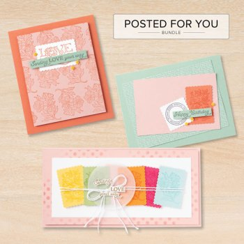 Posted for You Postage Stamp Punch Ideas