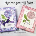 Hydrangea Hill Suite card ideas from Patty Bennett featuring Stampin