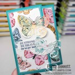 Butterfly Brilliance stamp set and die bundle from Stampin