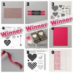 Blog Candy Giveaway WINNER for Valentine