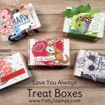 5 Treat Box ideas featuring Stampin
