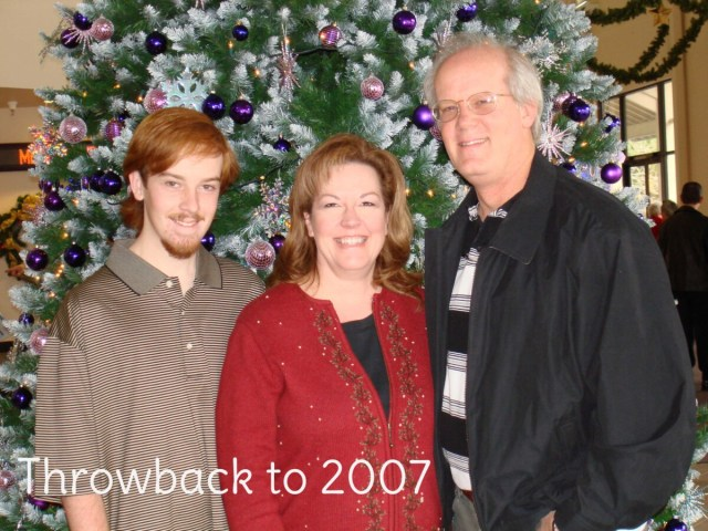 TBT 2007 Bennett Family - 5,000 blog posts celebration at www.PattyStamps.com