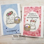 Great Springtime Joy note cards featuring Stampin