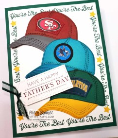 Hats Off Father's Day Card for Eric
