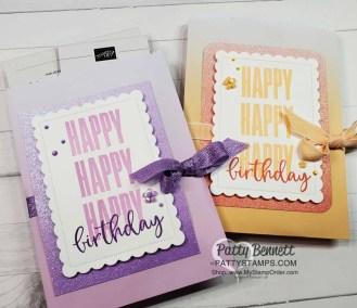 Birthday Treat Bag or Gift Card Holder