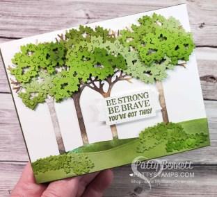Inspiring Canopy Encouragement Card