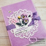 Pansy Petals designer paper from Stampin