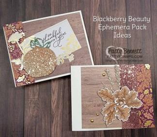 Blackberry Beauty Ephemera Card Ideas