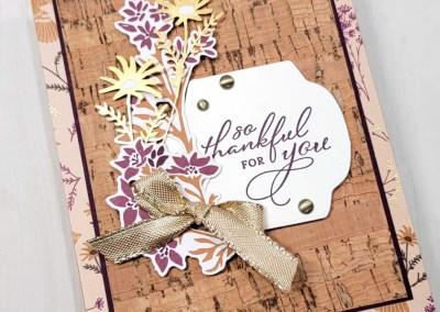 Card idea featuring Cork Paper