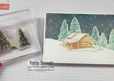 Altering Peaceful Place paper with Blending Brushes Video