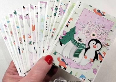 Only 1 Week Left to get the Penguin Playmates Paper